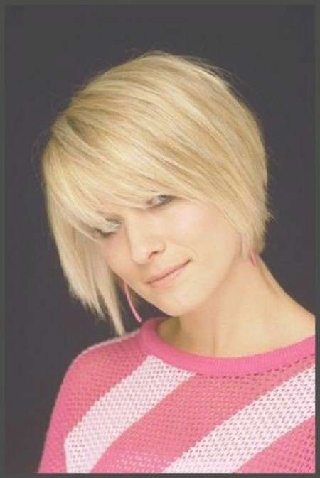 10 Best Haircuts Images On Pinterest | Hair, Braids And Hairstyles In Bob Haircuts With Bangs For Fine Hair (View 8 of 15)