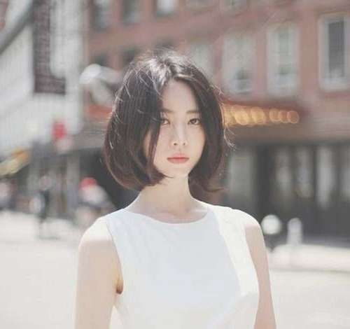 10 Best Korean Bob Hairstyle | Bob Hairstyles 2017 – Short Regarding Korean Bob Haircuts (View 1 of 15)