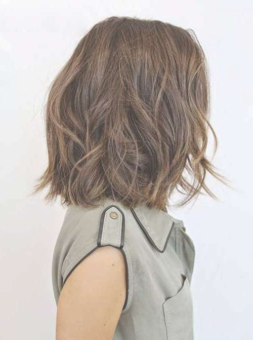 10 Bob Hairstyles For Thick Wavy Hair   Short Hairstyles 2016 With Regard To Bob Haircuts For Wavy Hair (View 14 of 15)
