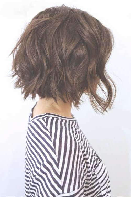 10 Bob Hairstyles For Thick Wavy Hair | Short Hairstyles 2016 Within Short Bob Hairstyles For Thick Wavy Hair (View 6 of 15)