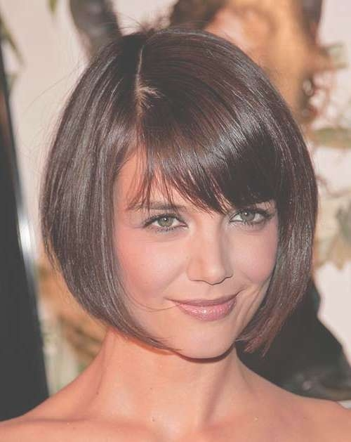 10 Bob Hairstyles With Bangs For Round Faces | Bob Hairstyles 2017 For Bob Haircuts With Bangs For Round Faces (View 2 of 15)