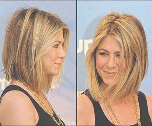 10 Jennifer Aniston Bob Haircuts | Short Hairstyles 2016 – 2017 With Regard To Different Length Bob Haircuts (View 8 of 15)