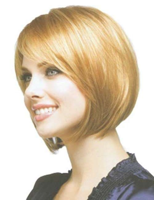 10 Short Bob Hairstyles With Side Swept Bangs | Short Hairstyles In Cute Bob Haircuts With Side Bangs (View 14 of 15)
