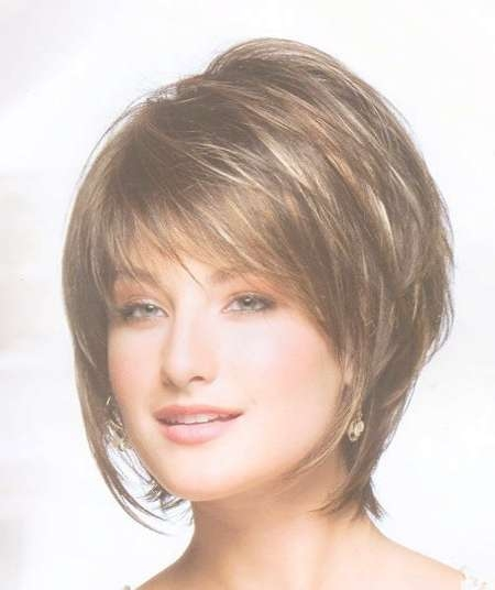 100 Best Bob Hairstyles | The Best Short Hairstyles For Women 2017 Regarding Layered Bob Hairstyles With Bangs (View 10 of 15)