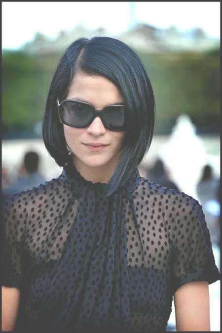100 Best Bob Hairstyles   The Best Short Hairstyles For Women 2017 Within Dark Hair Bob Haircuts (View 3 of 15)