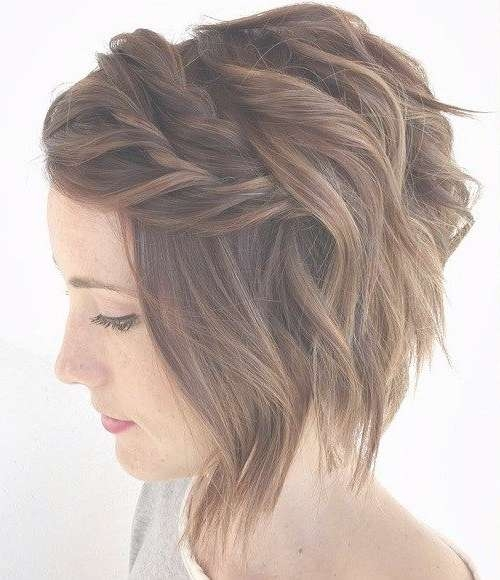 100 Mind Blowing Short Hairstyles For Fine Hair | Wavy Bobs, Updo In Bob Hairstyles Updo Styles (View 11 of 15)