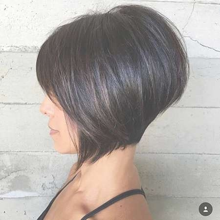 100 New Bob Hairstyles 2016 – 2017 | Short Hairstyles 2016 – 2017 Intended For Short Dark Bob Hairstyles (View 7 of 15)