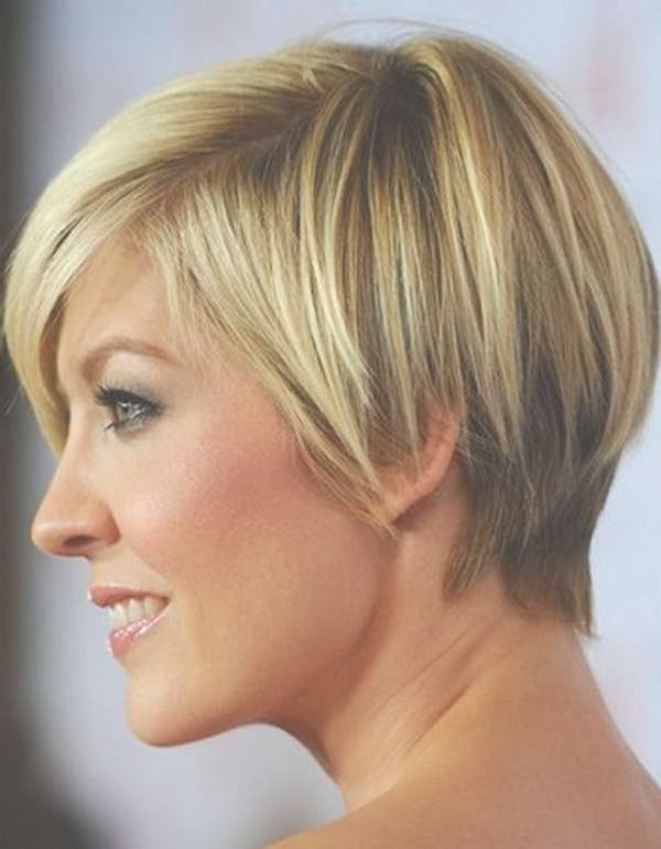 111 Hottest Short Hairstyles For Women 2018 – Beautified Designs For Bob Haircuts For Women With Thick Hair (View 8 of 15)