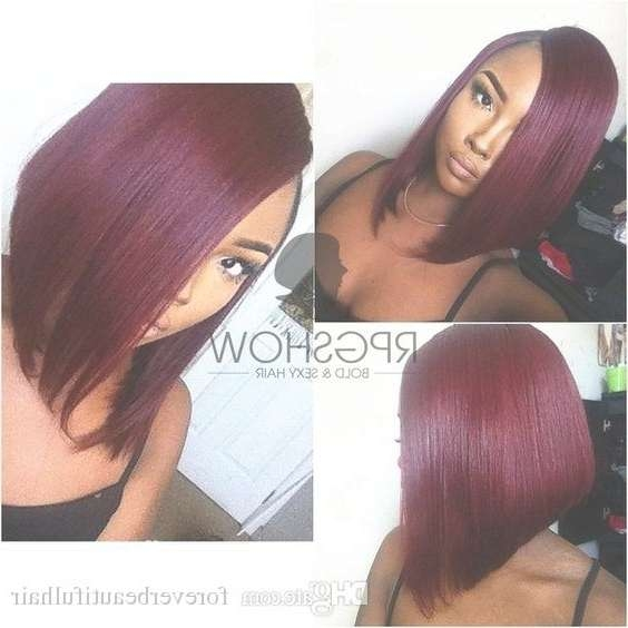 12 Ombre Burgundy Bob Wig Human Hair Glueless Full Lace Wig Bob Intended For Burgundy Bob Hairstyles (View 7 of 15)