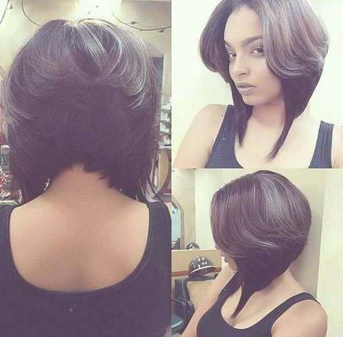 121 Best Bob Hairstyles Images On Pinterest   Black Hair, Bobs And Throughout Angel Bob Hairstyles (View 10 of 15)