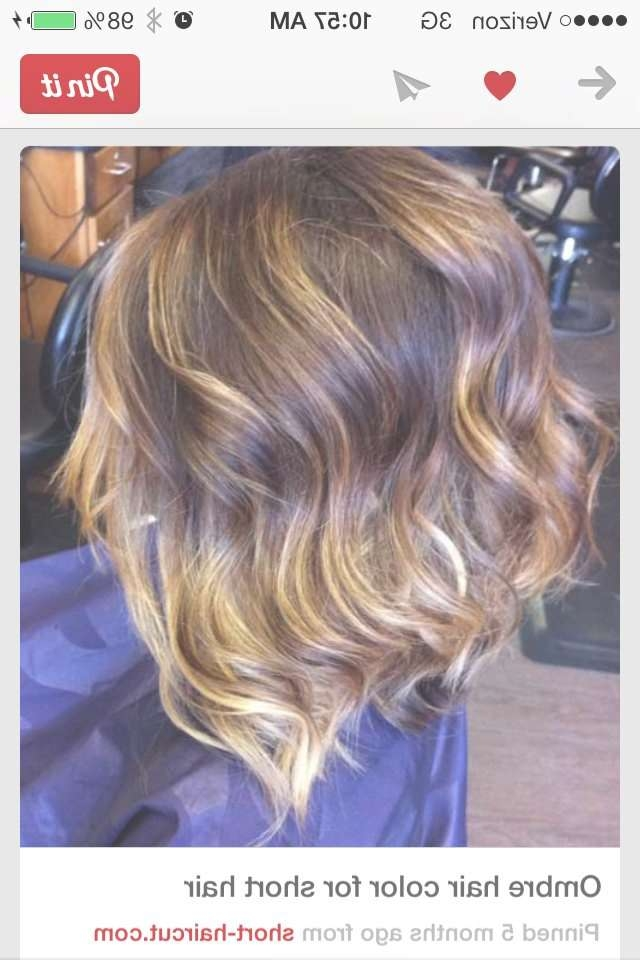 124 Best Hairinspiration Images On Pinterest | Braids, Hairstyles In Bob Haircuts With Ombre Highlights (View 4 of 15)