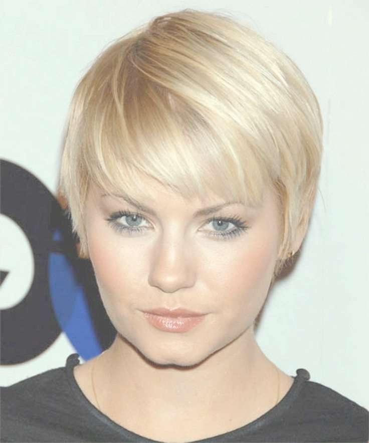 126 Best Hair Styles For Round Faces Images On Pinterest | Make Up In Bob Haircuts For Fine Hair And Round Faces (View 11 of 15)