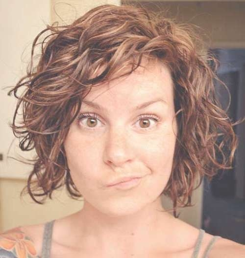 Featured Photo of Layered Curly Bob Haircuts