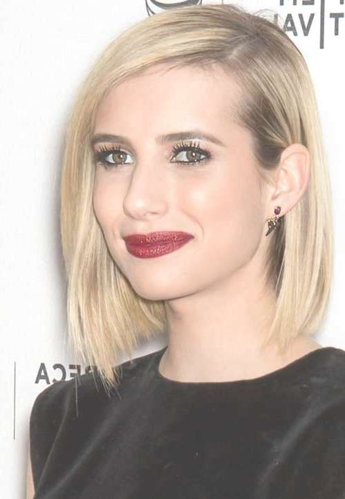 Photo Gallery Of Long Bob Haircuts For Long Faces Showing 5 Of 15