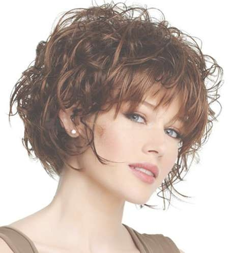 15 Best Curly Short Haircuts | Short Hairstyles 2016 – 2017 | Most Throughout Curly Bob Haircuts With Bangs (View 9 of 15)