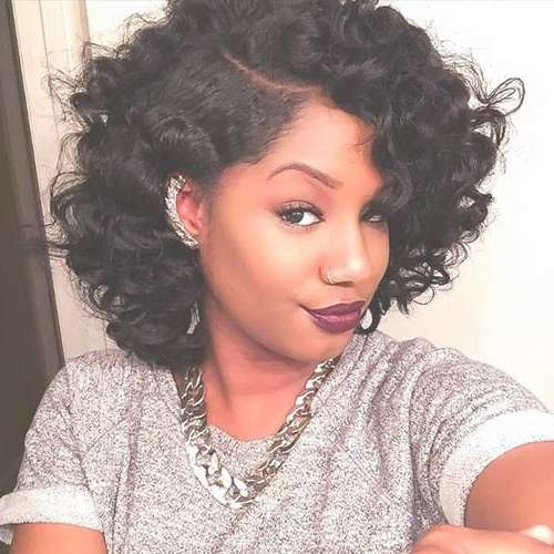 15 Best Short Weave Bob Hairstyles | Bob Hairstyles 2017 – Short Pertaining To Bob Hairstyles With Curls (View 10 of 15)