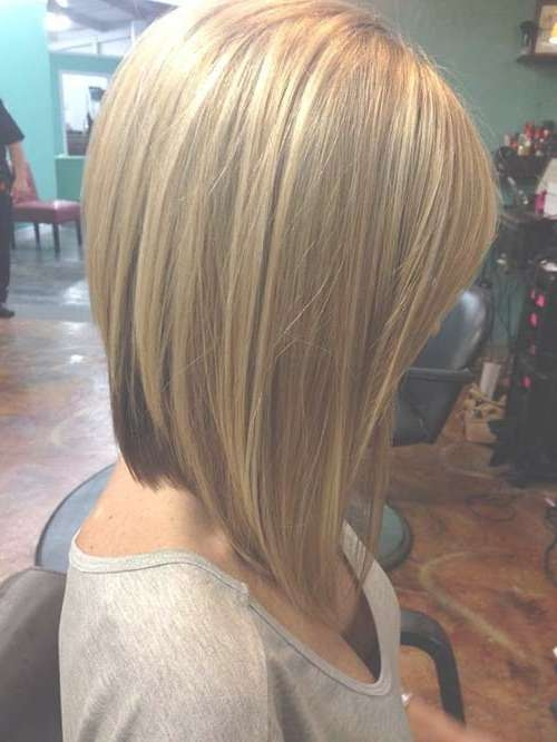 15 Blonde Bob Hairstyles | Short Hairstyles 2016 – 2017 | Most Throughout Back View Long Bob Haircuts (View 9 of 15)