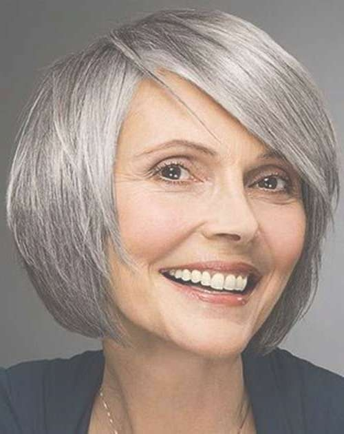 15 Bob Hairstyles For Older Women | Short Hairstyles & Haircuts 2017 Intended For Bob Haircuts For Mature Ladies (View 11 of 15)