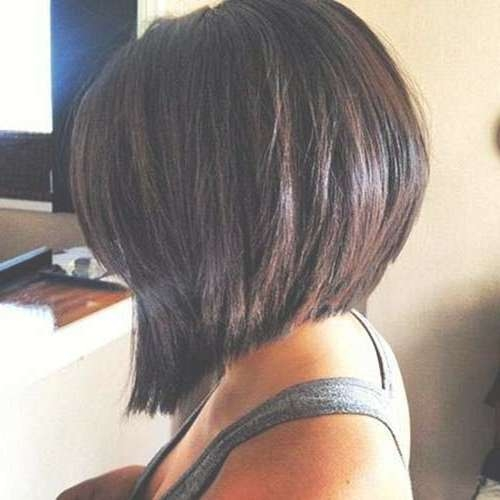 15 Bob Stacked Haircuts | Bob Hairstyles 2017 – Short Hairstyles Throughout Long Swing Bob Haircuts (View 8 of 15)