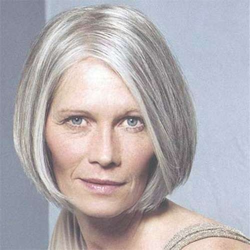 Photo Gallery Of Bob Haircuts For Mature Ladies Showing 4 Of 15 Photos