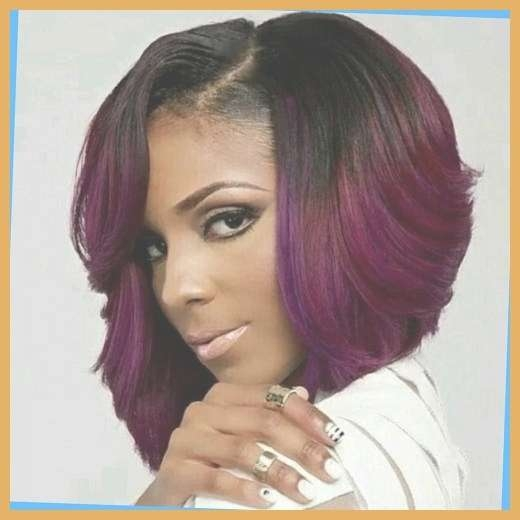 15 Chic Short Bob Hairstyles: Black Women Haircut Designs With With Bob Haircuts African American Women (View 4 of 15)