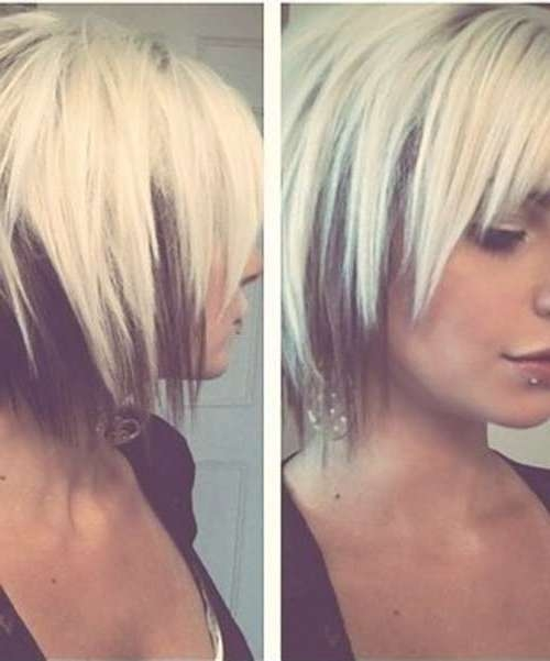 15 Cool Funky Short Hair Styles | Short Hairstyles 2016 – 2017 In Short Funky Bob Haircuts (View 13 of 15)