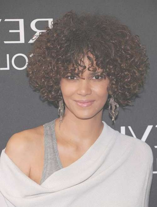 15 Curly Short Hairstyles For Black Women | Short Hairstyles For Afro Bob Haircuts (View 12 of 15)