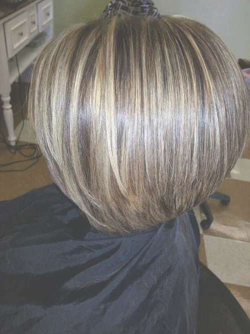 15 Highlighted Bob Hairstyles   Short Hairstyles 2016 – 2017 In Bob Haircuts With Highlights (View 3 of 15)