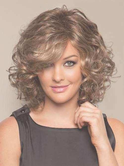 15 Inspirations Of Medium Length Curly Bob Hairstyles For Shoulder Length Curly Bob Haircuts (View 5 of 15)