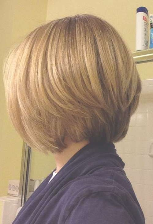 15 Layered Bob Back View | Bob Hairstyles 2017 – Short Hairstyles For Back View Layered Bob Haircuts (View 2 of 15)