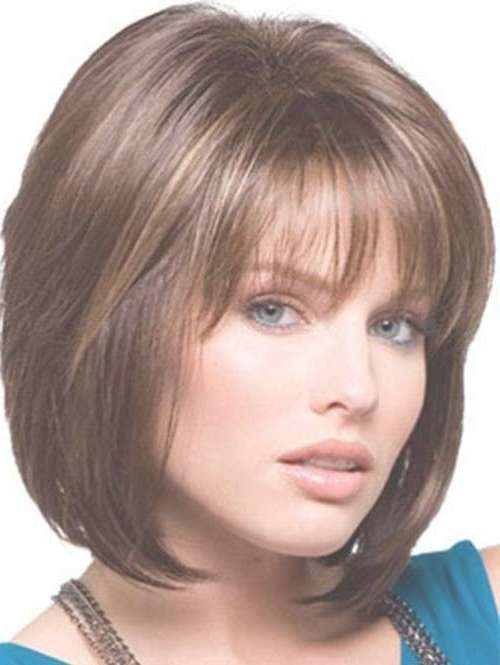 15 Medium Layered Bob With Bangs | Bob Hairstyles 2017 – Short Pertaining To Medium Bob Hairstyles With Bangs (View 7 of 15)