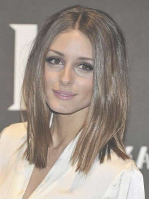2018 Latest Long Bob Hairstyles For Round Face
