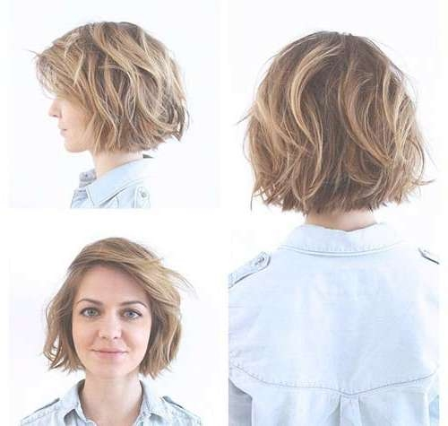 15 Nice Layered Wavy Bob | Short Hairstyles 2016 – 2017 | Most For Layered Curly Bob Haircuts (View 5 of 15)