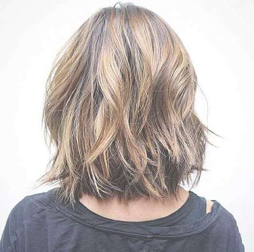15 Nice Layered Wavy Bob | Short Hairstyles 2016 – 2017 | Most With Long Layered Bob Hairstyles (View 15 of 15)