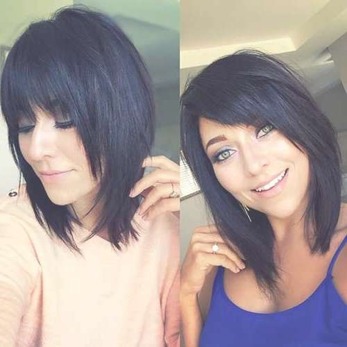 15 Popular Brunette Bob Hairstyles | Short Hairstyles 2016 – 2017 Inside Brunette Bob Haircuts (View 4 of 15)