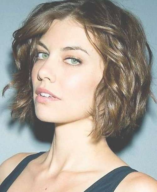 Featured Photo of Bob Hairstyles For Round Faces And Curly Hair