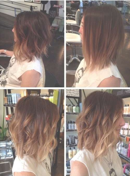 15 Shaggy Bob Haircut Ideas For Great Style Makeovers! – Popular Inside Bob Haircuts With Ombre Highlights (View 14 of 15)