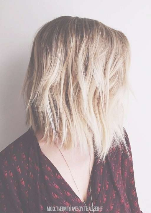 15 Shaggy Bob Haircut Ideas For Great Style Makeovers! – Popular Intended For Medium Length Shaggy Bob Haircuts (View 4 of 15)