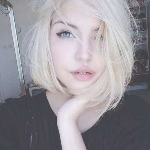 15+ Short Blonde Hair Cuts | Short Hairstyles 2016 – 2017 | Most Regarding Grunge Bob Haircuts (View 4 of 15)