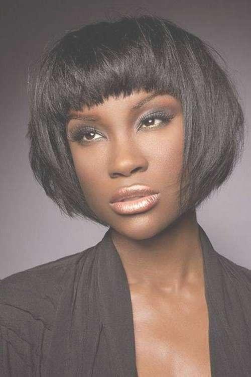 15 Short Bob Haircuts For Black Women | Short Hairstyles 2016 For Afro Bob Haircuts (View 8 of 15)