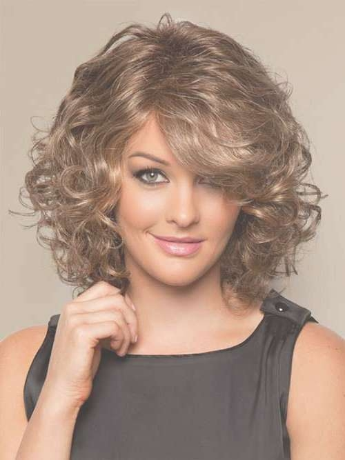 Featured Photo of Medium Length Bob Hairstyles For Curly Hair