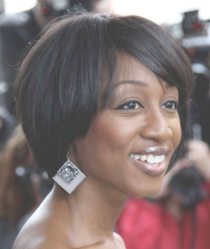 160 Best Pixie, Bob & Short Haircuts Images On Pinterest | Make Up With Short Bob Hairstyles For African American Hair (View 12 of 15)