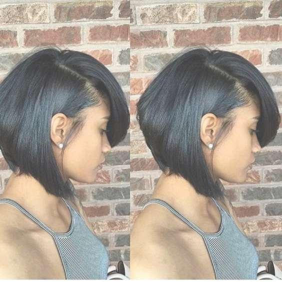 17 Best Short Bob Hairstyles For Black Women 2016 – 2017 Pertaining To Short Bob Haircuts For Black Women (View 8 of 15)