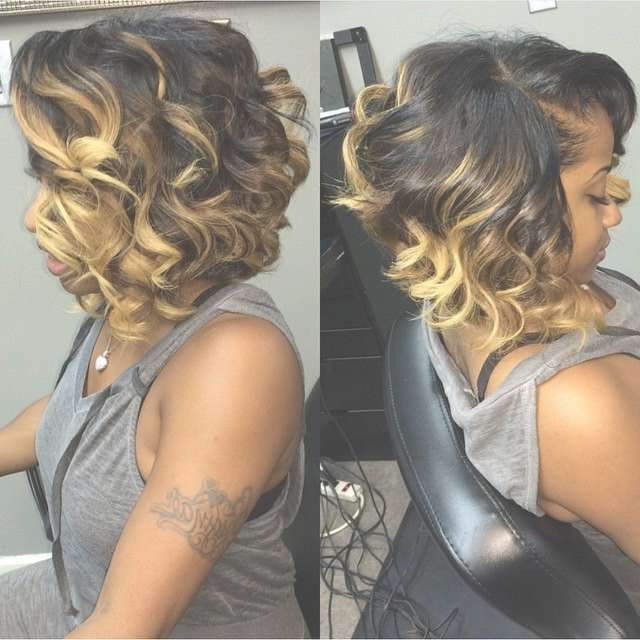 17 Trendy Bob Hairstyles For African American Women 2017 | Curly Within Bob Haircuts African American Women (View 13 of 15)
