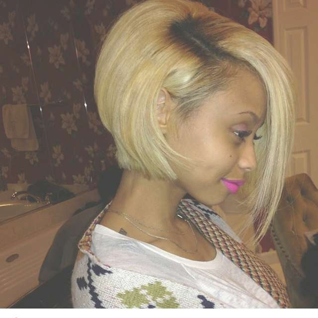 17 Trendy Bob Hairstyles For African American Women 2017 In Cute Bob Hairstyles For Black Women (View 13 of 15)