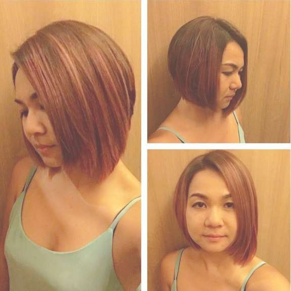 18 Beautiful Short Hairstyles For Round Faces 2016 – Pretty Designs Inside Cute Bob Haircuts For Round Faces (View 9 of 15)