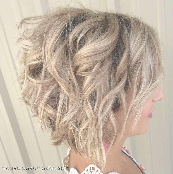 18 Hot Angled Bob Hairstyles: Shoulder Length Hair, Short Hair Cut Pertaining To Shoulder Length Curly Bob Haircuts (View 10 of 15)