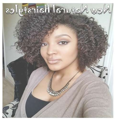 18 Natural Bob Hairstyles With Curly Hair For Black Women – New In Bob Hairstyles For Naturally Curly Hair (View 8 of 15)