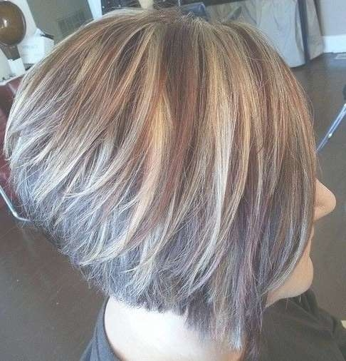 18 Short Hairstyles For Thick Hair | Styles Weekly Within Bob Haircuts With Color (View 13 of 15)