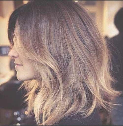 15 photos layered long bob haircuts